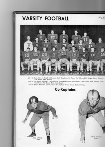 Madison 1954 football team.